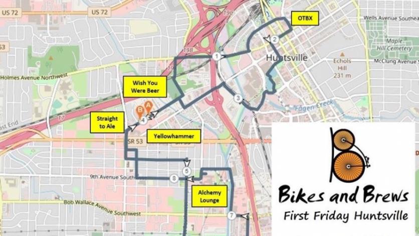 Bikes Brews Huntsville