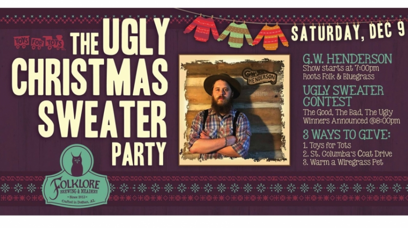 Folklore Brewing & Meadery's Ugly Christmas Sweater Party