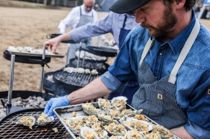 Grilling Oysters Alabama Oyster Social