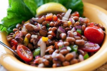 Black eyed pea salad LuLus