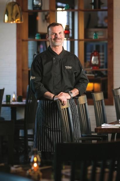 The Depots chef Scott Simpson