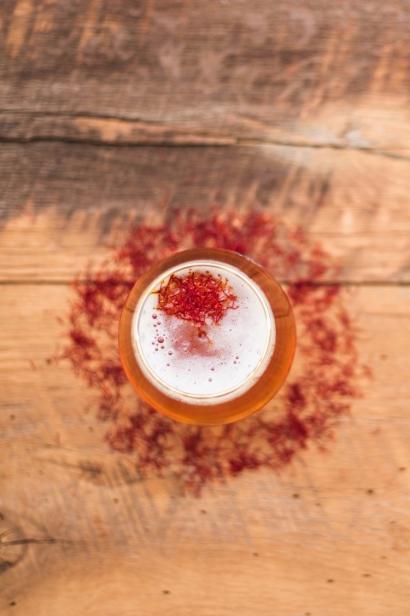 Saffron Saison Beer
