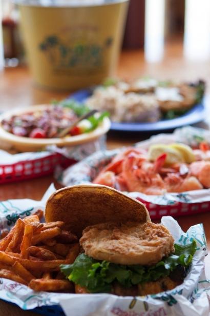 Food spread LuLus Gulf Shores