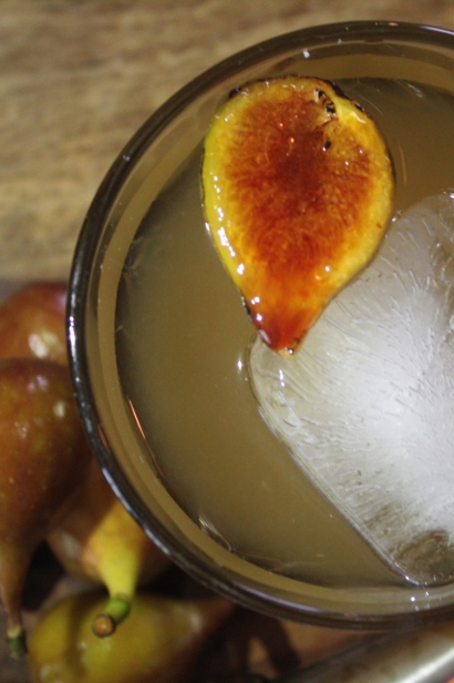 Tongue and Groove Fig Cocktail