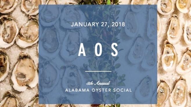 Alabama Oyster Social