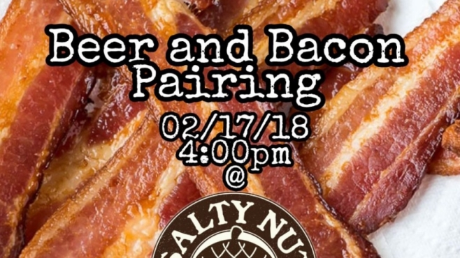 beer and bacon pairing