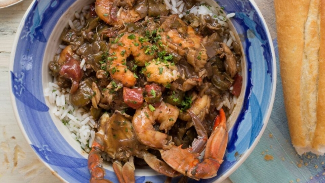 Summer Seafood Gumbo by Lucy Buffett