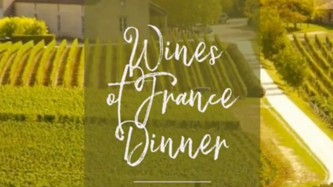 Wines of France Dinner The Depot