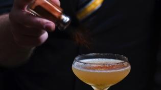 Transatlantic Cocktail at Haberdasher Mobile